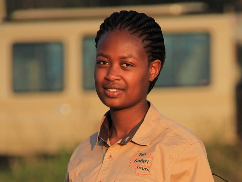 Jacline, a reservation at Tansafari Tours Ltd